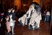A reception for the film The Longest Night. Paperhand Puppet Intervention and UNC collaborated to create the film, The Longest Night, specifically for the domed screen of Morehead Planetarium on the campus of UNC Chapel Hill, N.C., Thursday, Nov. 1, 2012.