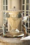 Spa Mineral Water Fountain, Pump Room Tea Room, Roman Baths, Bath, England, UK