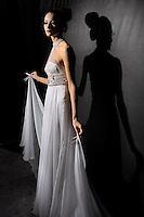 Italian fashion designer Gianni Molaro featured at Rome Fashion Week,Fashion show. Presentation of S/S 2013.Italian Haute Couture collection, January 27, 2013