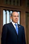 President Felipe Calderon at Los Pinos
