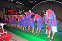 Bourbon Water Polo Clu Kashiwazaki team group, OCTOBER 2, 2011 - Water Polo : Japan Challenge 2011 match Men's 3rd Place Match between Bourbon Water Polo Club Kashiwazaki 10 - 8 All Tsukuba University at Tatsumi International Swimming Pool, Tokyo, Japan. (Photo by Jun Tsukida/AFLO SPORT) [0003]