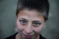 The Chamne Babrak refugee camp in Kabul 5-1-14