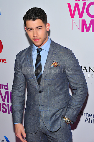 NEW YORK, NY - DECEMBER 9 : Joe Jonas at the 11th Annual Billboard's Women In Music Luncheon at Madison Square Garden in New York City on December 9, 2016. Credit: John Palmer/MediaPunch
