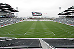 6 April 2007: View from the south concourse of the stadium. The stadium at Dick's Sporting Goods Park in Denver, Colorado is ready for the season opener between DC United and the Colorado Rapids to be played Saturday, April 7.