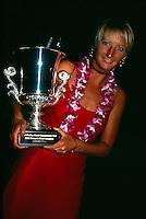 Layne Beachley (AUS) ASP World Champion Hawaii 1998. Photo:  joliphotos.com