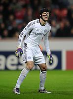 FUSSBALL   CHAMPIONS LEAGUE   SAISON 2011/2012   GRUPPENPHASE Bayer 04 Leverkusen - FC Chelsea    23.11.2011 Petr Cech (Chelsea)