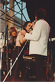 Grace Slick, Mickey Thomas & Paul Kantner of Jefferson Starship , NYC 1981 Pier 84