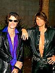 Aerosmith 2002 Steve Tyler and Joe Perry at Billboard Awards.© Chris Walter.