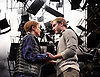 As You Like It <br /> by William Shakespeare<br /> at The Olivier Theatre, London, Great Britain <br /> press photocall<br /> 30th October 2015 <br /> <br /> Joe Bannister as Orlando<br /> Rosalie Craig as Rosalind <br /> <br /> <br /> Photograph by Elliott Franks <br /> Image licensed to Elliott Franks Photography Services