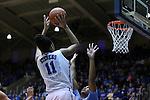 01 March 2015: Duke's Azura Stevens (11). The Duke University Blue Devils hosted the University of North Carolina Tar Heels at Cameron Indoor Stadium in Durham, North Carolina in a 2014-15 NCAA Division I Women's Basketball game. Duke won the game 81-80.