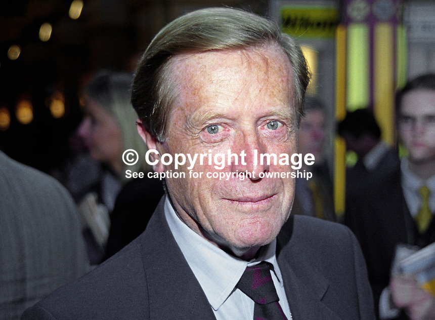 Sir Geoffrey Johnson-Smith, MP, Conservative Party, UK, 199910061<br />