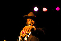 © clay williams - http://claywilliamsphoto.com..Gregory Porter's Grammy Nomination Party at Drom.