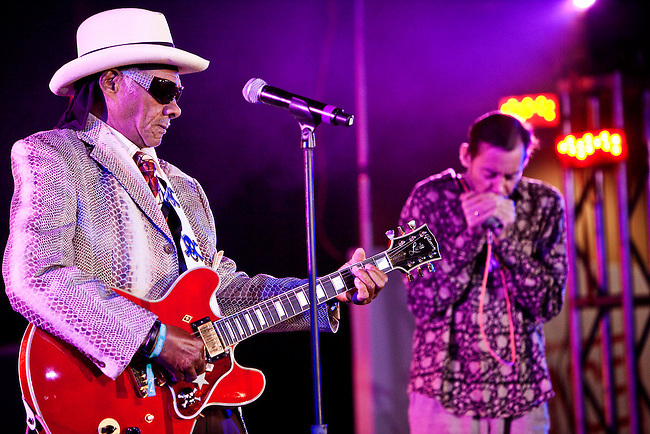 Little Freddy King performing during the 2010 Essence Music Festival at the Louisiana Superdome on July 3, 2010 in New Orleans, Louisiana. USA.