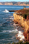 La Jolla California seaside resort with seven miles of curving coastline along Pacific Ocean in Southern California,  California, West Coast of US, Golden State, 31st State, California, Fine Art Photography by Ron Bennett, Fine Art, Fine Art photography, Art Photography, Copyright RonBennettPhotography.com ©