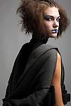 Geisha Theme Chardon Savard. Designer Aurelie Taieb Makeup Erika Aurien, Model: Alison Skildum from Crystal Models