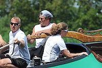 ZEILEN: EARNEWALD, 22-07-2014, SKS skûtsjesilen, ©foto Martin de Jong