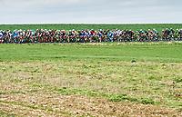 Picture by Alex Broadway/SWpix.com - 09/03/17 - Cycling - 2017 Paris Nice - Stage Five - Quincié-en-Beaujolais to Bourg-de-Péage - The peloton passes through the French Countryside.