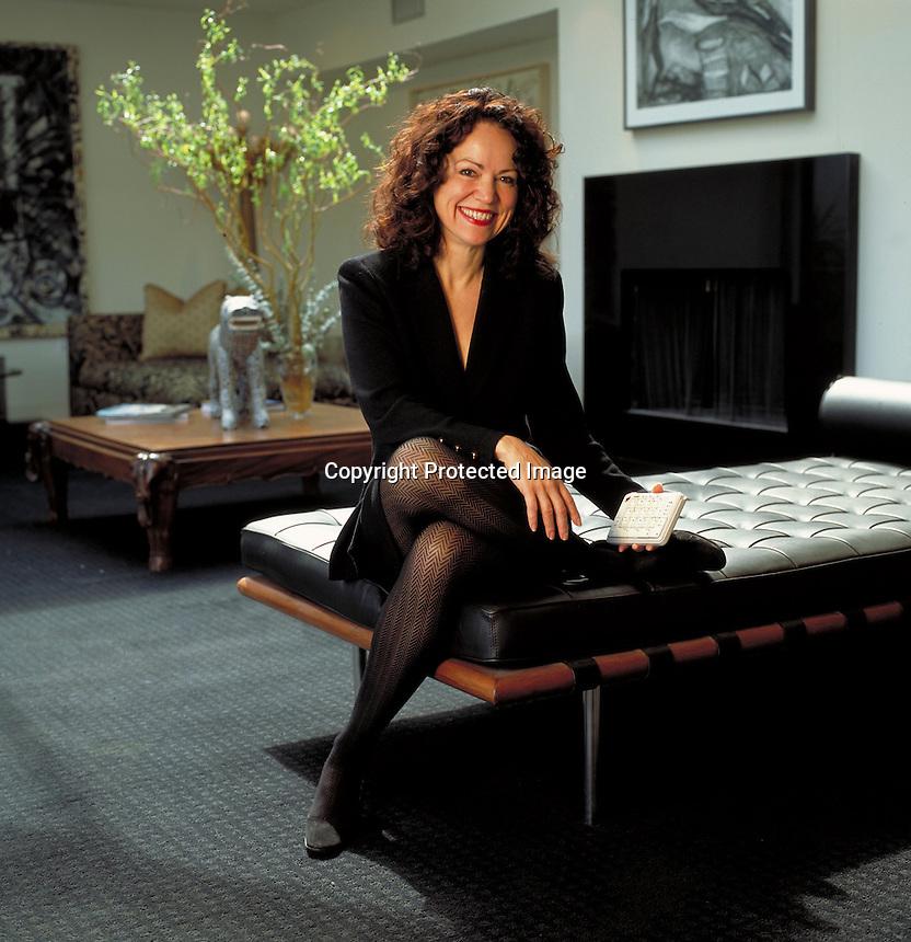 Linda Marroquin, CEO, FrogPad. Houston, TX<br /> Photo by Chris Covatta