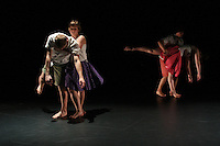 "Quark Contemporary Dance Theatre performs ""Kid's Table"" at Chop Shop: Northside at Black Box Theater on October 2010."