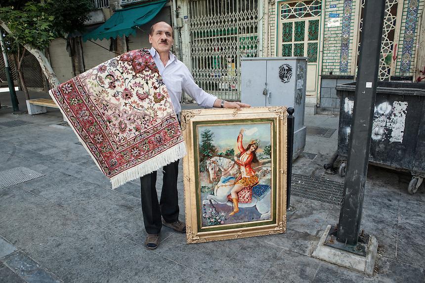 Scene from Tehran Bazaar