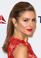 LOS ANGELES, CA, USA - OCTOBER 11: Maria Menounos arrives at the Children's Hospital Los Angeles' Gala Noche De Ninos 2014 held at the L.A. Live Event Deck on October 11, 2014 in Los Angeles, California, United States. (Photo by Xavier Collin/Celebrity Monitor)