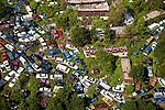 North Carolina traffic jamb junk cars junk mobile homes helicopter aerial