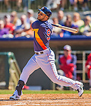 7 March 2013: Houston Astros infielder Marwin Gonzalez in action during a Spring Training game against the Washington Nationals at Osceola County Stadium in Kissimmee, Florida. The Astros defeated the Nationals 4-2 in Grapefruit League play. Mandatory Credit: Ed Wolfstein Photo *** RAW (NEF) Image File Available ***