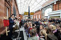 EMT Nottingham Station re-opens