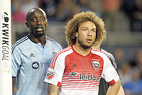 Kansas City, KS. - May 27, 2016: D.C. United defeated Sporting Kansas City 1-0 in a Major League Soccer (MLS) regular season game at Children's Mercy Park.