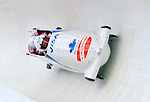 19 December 2010: Rush Lyndon pilots his 4-Man Bobsled team to a 3rd place finish for Canada at the Viessmann FIBT World Cup Championships on Mount Van Hoevenberg in Lake Placid, New York, USA. Mandatory Credit: Ed Wolfstein Photo