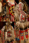 Four images of &quot;Eagle Feathers&quot; Native American Pow Wow Regalia. Examples of his ethnic pride, heritage and culture. A  celebration of Indian traditional folk art crafts.<br /> <br /> Powwow Regalia - GOR-84449-11<br /> Powwow Regalia - GOR-84457-11<br /> Powwow Regalia - GOR-84454-11<br /> Powwow Regalia - GOR-84458-11