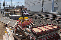 Additional View taken during Construction Progress Photography of the Railroad Station at Fairfield Metro Center - Site visit 9 of once per month Chronological Documentation.