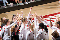 Stanford Volleyball W vs Cal Poly San Luis Obispo, September 11, 2016