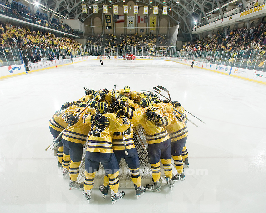 1/11/09  Ice hockey vs. Miami (Ohio) University at Yost Ice Arena.  Michigan went on to win 5-1.