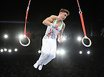 Wales Iwan Mepham in action during todays final <br /> <br /> Photographer Ian Cook/Sportingwales<br /> <br /> 20th Commonwealth Games -Gymnastics -  Day 7 - Wednesday 30th July 2014 - Glasgow - UK