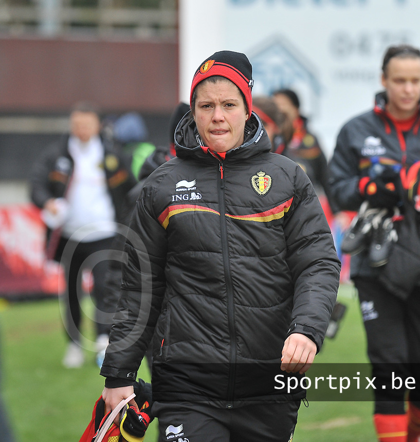 Belgium - The Netherlands : Adeline Medard.foto DAVID CATRY / Vrouwenteam.be
