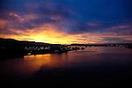 sunrise over north vancouver