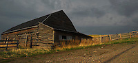 A wonderful barn in the foothills of Waterton