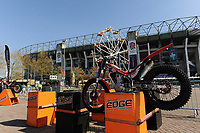 A general view of the On the Edge motorcycle stunt show set-up. The Clash, Aviva Premiership match, between Bath Rugby and Leicester Tigers on April 8, 2017 at Twickenham Stadium in London, England. Photo by: Rob Munro / Onside Images