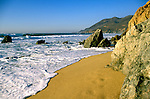 California: Monterey Region.  Garrapata Beach in Big Sur.  Photo #: camon4101..Photo copyright Lee Foster, 510/549-2202, lee@fostertravel.com, www.fostertravel.com