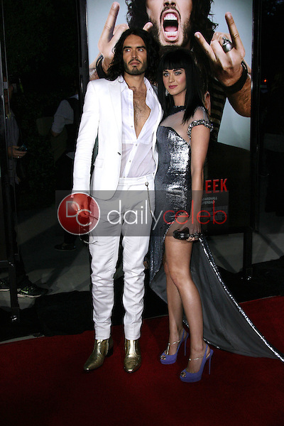 Russell Brand, Katy Perry<br /> at the &quot;Get Him To The Greek&quot; Los Angeles Premiere, Greek Theater, Los Angeles, CA. 05-25-10<br /> David Edwards/Dailyceleb.com 818-249-4998