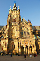 Hradcany St. Vitus cathedral - Castle area - Prague Czech Republic