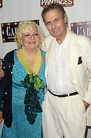 HOLLYWOOD, CA - JULY 20: Renee Taylor and Joe Bologna at the opening of 'Cabaret' at the Pantages Theatre on July 20, 2016 in Hollywood, California. Credit: David Edwards/MediaPunch