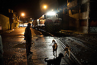 The train macho arrives at Chilca Station in Huancayo. The train serves the Huancayo - Huancavelica route and departs at 6:30 a.m. from Huancayo and 2:00 p.m. from Huancavelica.