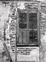plantation shutter,Lafayette,La. Acadian village
