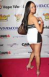 "Adult Film Actress Bethany Benz Attends EXXXOTICA 2013 1st Ever Fan Choice Awards ""The Fannys"" Pink Carpet Arrvials Held At The Taj Mahal Atlantic City, NJ"