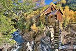 Crystal Mill, autumn, Elk Mountains, Colorado