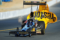 Jul. 16, 2010; Sonoma, CA, USA; NHRA top fuel dragster driver Troy Buff during qualifying for the Fram Autolite Nationals at Infineon Raceway. Mandatory Credit: Mark J. Rebilas-