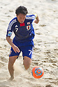 Takeshi Kawaharazuka (JPN), SEPTEMBER 4, 2011 - Beach Soccer : FIFA Beach Soccer World Cup Ravenna-Italy 2011 Group D match between Ukraine 4-2 Japan at Stadio del Mare, Marina di Ravenna, Italy, (Photo by Enrico Calderoni/AFLO SPORT) [0391]