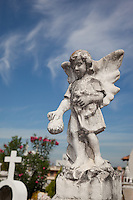 Mexican Cemetery 22 - Photograph taken in El Panteón Cementario, also know as Cementario Viejo or old cemetery, in Puerto Vallarta, Mexico.